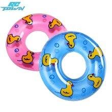 Купить с кэшбэком RCtown 2 Pcs New Cute Mini Swimming Buoy Lifebelt Ring For Doll Accessories baby doll accessories Baby Toys best Gift 2 Colors