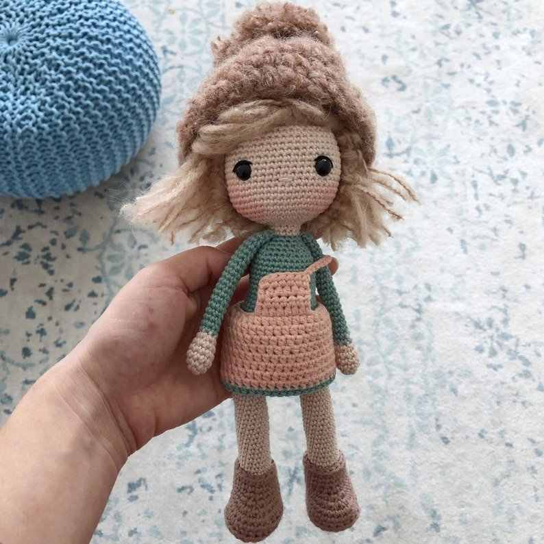 かぎ針おもちゃあみぐるみ手作りガラガラ人形モデル番号 SY126