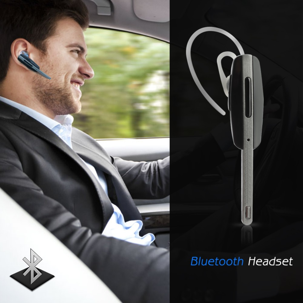 Hot Wireless Bluetooth V3.0 Headset Headphone Hands-Free Stereo Design with Mic for iPhone Samsung Smart Phone Tablet P20