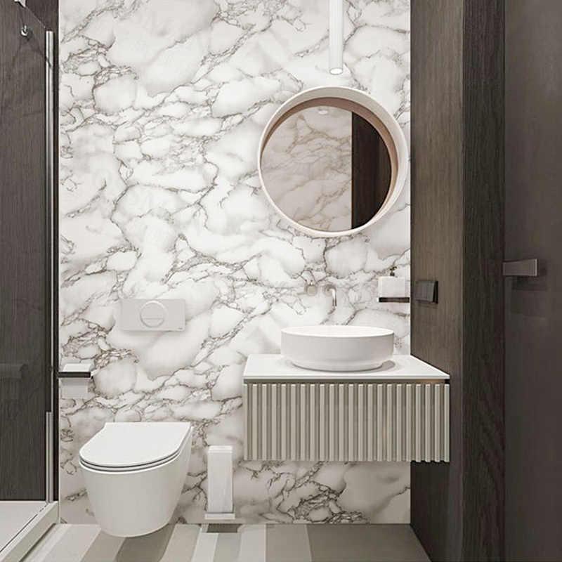 Kết quả hình ảnh cho giấy dán tường chống thấm Marble phòng tắm