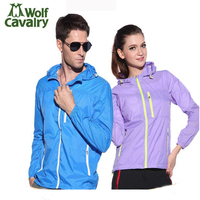 Outdoor Clothing Men Women Sportswear Ultra Thin Breathable Sun Protection Summer Lovers Sport Jacket Coat For