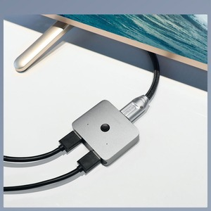 Image 4 - Xiaomi HAGIBIS HDMI Multi function Converter Adapter Dual Way HDMI Splitter Switcher 4K 1080P HDTV for Compute TV Smart Home