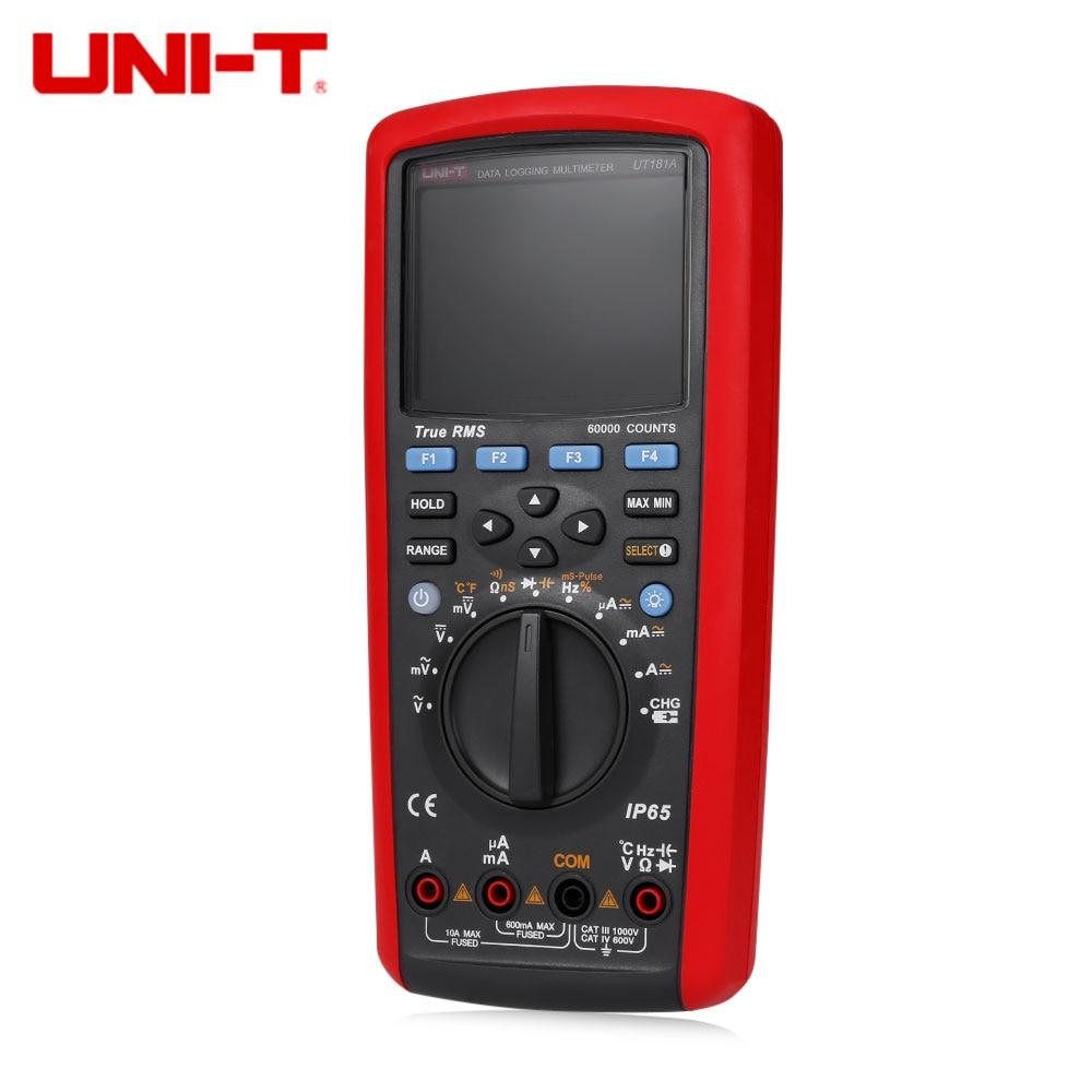 UNI-T UT181A Auto Range True RMS Datalogging Multimeter Tester df6a8d8d951