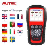 Autel Original MD805 Car Auto Diagnostic obd2 Scanner OBD 2 scanner for Cars vag com diagnostic Tool Code Reader Auto Scan Tools
