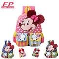 Dos desenhos animados de mickey crianças mochilas escolares para meninas & boy 2016 crianças mochila mochilas mochila escolar saco de livro infantil minnie princesa
