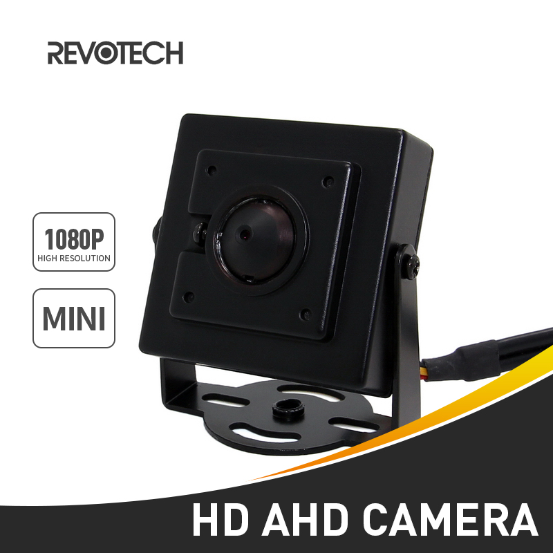 bilder für AHD Kamera Mini Typ HD 1920x1080 P 2.0MP 3,7mm Objektiv Indoor Metall Überwachungskamera CCTV Cam