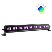 9x3W UV led black light for disco party stage dj Christmas decoration event show bar entertainment