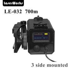 LaserWorks LE032 700 м металлический сплав Лазерный дальномер прицел Коврики с кронштейном Парусность levation регулируемый