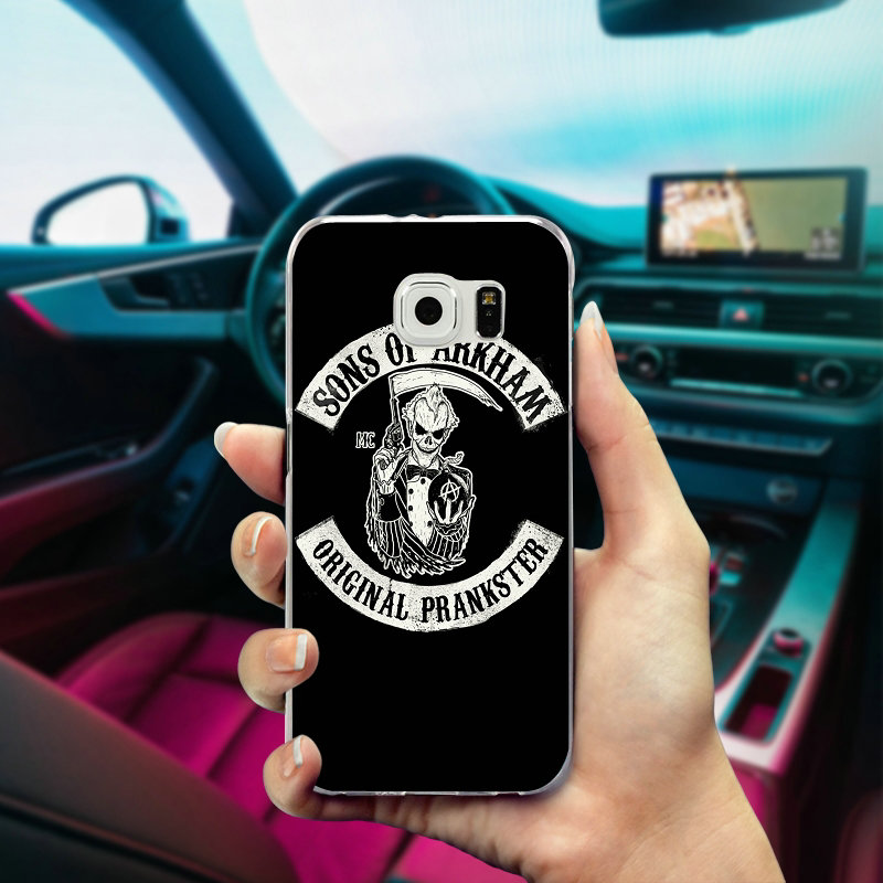 Hot Sons Of Anarchy Soft Tpu Mobile Phone Cases Cover For Samsung