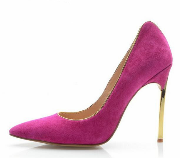 2017 women pumps fashion sexy high heels shoes mixed colors ladies shoes pointed toe thin heels pumps shallow women's shoes summer 2017 office ladies basic thin high heels sandals comfortable shallow women shoes with pointed toe
