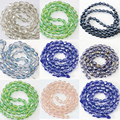 8x11mm high quality drop faceted crystal glass waterdrop diy loose beads jewelry 60pcs B1175