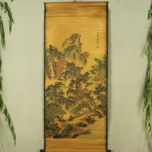 Antique collection Imitation ancient Landscape painting Pavilion