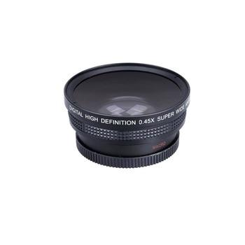 Objektiv Für Nikon D3200 | 52mm 0.45x Weitwinkel Objektiv + Makro Objektiv 72 UV Front Filter Gewinde Für Nikon D5000 D5100 D3100 D7000 D3200 D80 D90 DSLR Kameras