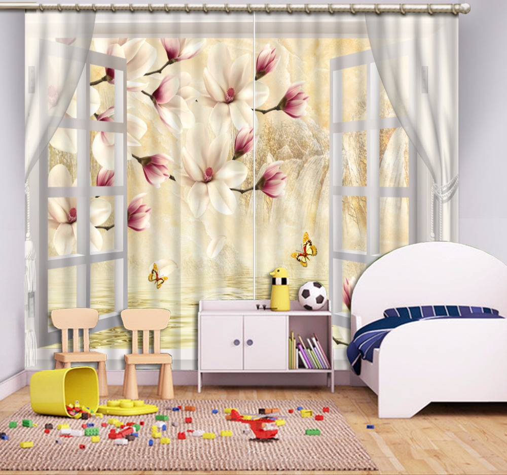 3D Curtains Modern Beautiful Curtains For Living room Bedroom ...
