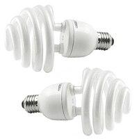 2x Daylight 35W 175W 5500K E27 Umbrella Photo Studio Photography Bulb Lamp