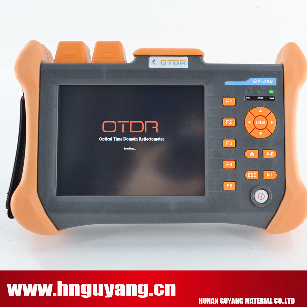 GUYANG GY300B 5.6inch touchscreen Optical Time Domain Reflectometer 120km OTDR 1310/1550nm 32/30DB with VFL ...