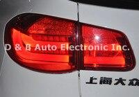 1 пара Совершенно новый LED заднего света светодиодные задние лампы светодиодные лампы назад для Volkswagen Tiguan 2011'