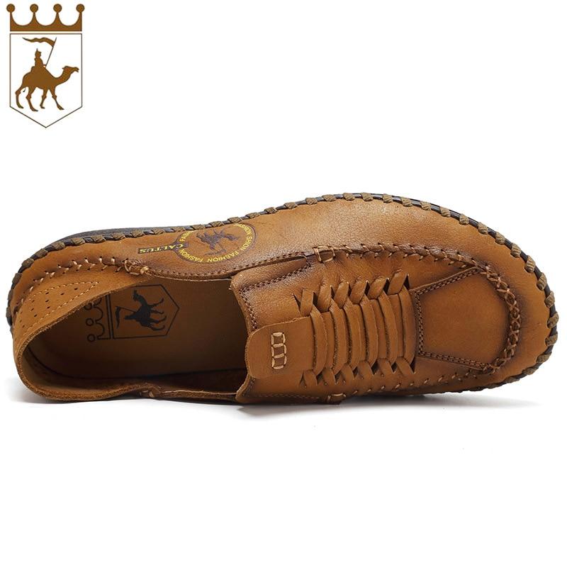 BACKCAME Γνήσια Δερμάτινα Παπούτσια - Ανδρικά υποδήματα - Φωτογραφία 4