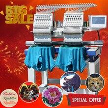 Холиаума высокоскоростная вышивальная машина 400*450 мм компьютеризированная вышивальная машина с дешевой футболкой вышивальная машина цена