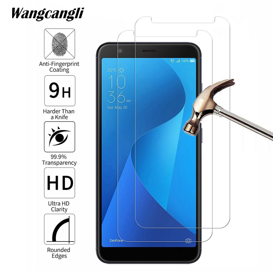 For <font><b>ASUS</b></font> <font><b>ZB601KL</b></font> screen protector 9H tempered glass phone protective glass 0.3mm Ultra-thin protective flim wangcangli image