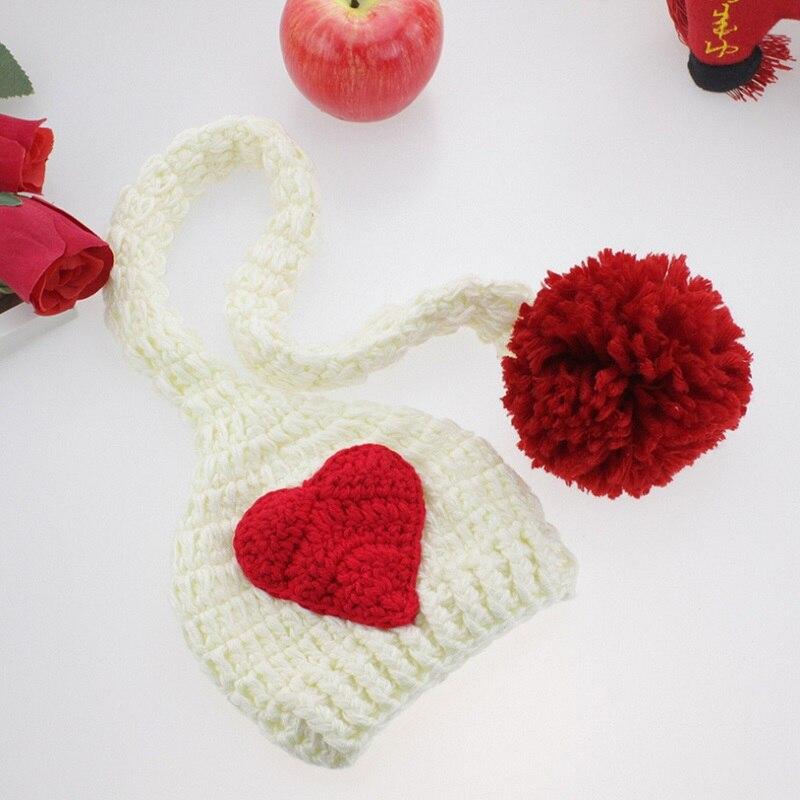Yumşaq əl istehsalı Crochet Körpə Şapkası Yenidoğulmuş - Körpələr üçün geyim - Fotoqrafiya 5