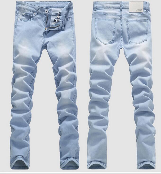 Online Buy Wholesale men light blue skinny jeans from China men ...