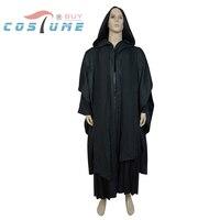 Star Wars Darth Maul Tunic Robe Black Version Cosplay Costume