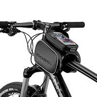 ROCKBROS Bicycle Frame Bag Touch Screen Cellphone Case Bags MTB Cycling Top Tube Front Head Bags