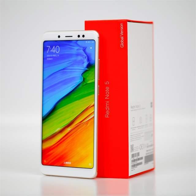 1bdfd185641702 Global Version Xiaomi Redmi Note 5 4GB 64GB 5.99