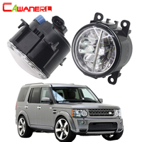 Cawanerl Car LED Fog Light Daytime Running Light DRL For Land Rover Discovery 4 LR4 SUV (LA) Closed Off Road Vehicle 2010 2013