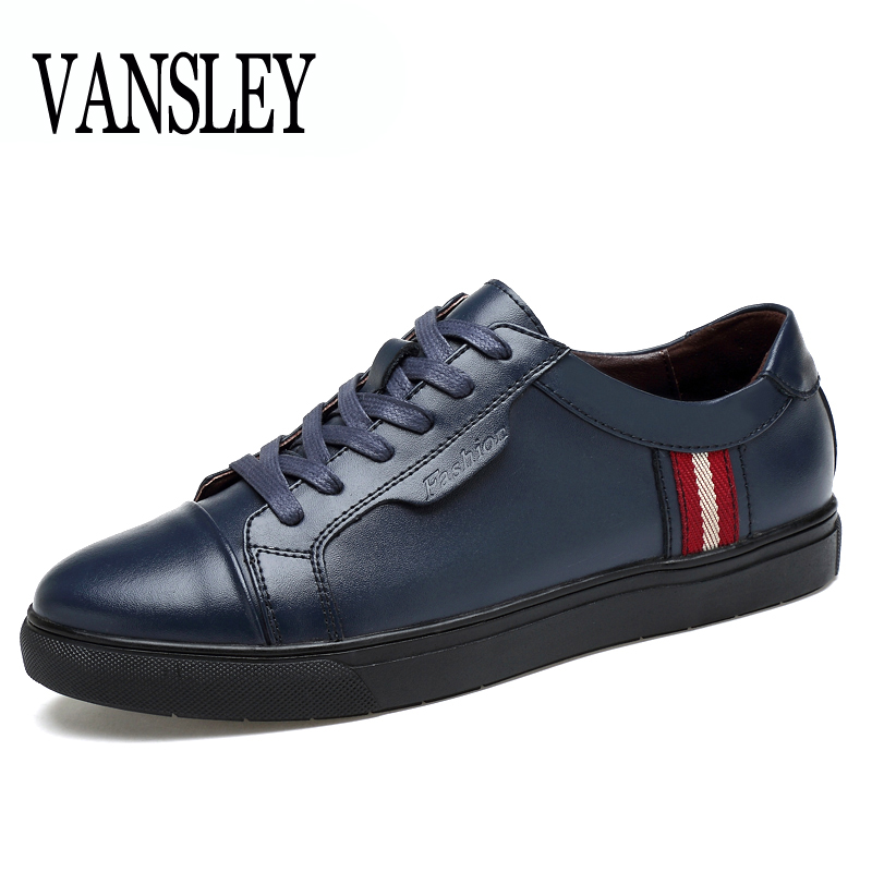 New Roman Brand Fashion Comfortable Men Shoes Lace-up Solid Leather Shoes White Black Men Causal Huarache  Loafers Oxford Shoes