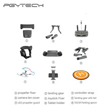 9 soorten Option PGYTECH DJI Mavic Pro Accessoires Controller Tablet Houder Propeller Guard Strap Cover LED Light Landingsgestel(China)