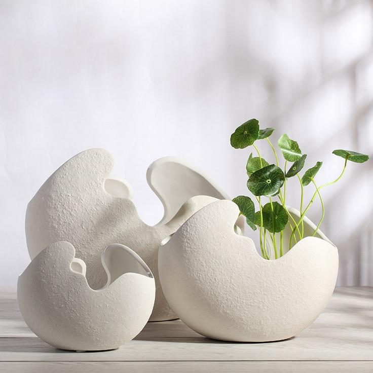 Ceramics flower vases for home decor vase for wedding vase for Aana decoration wedding accessories