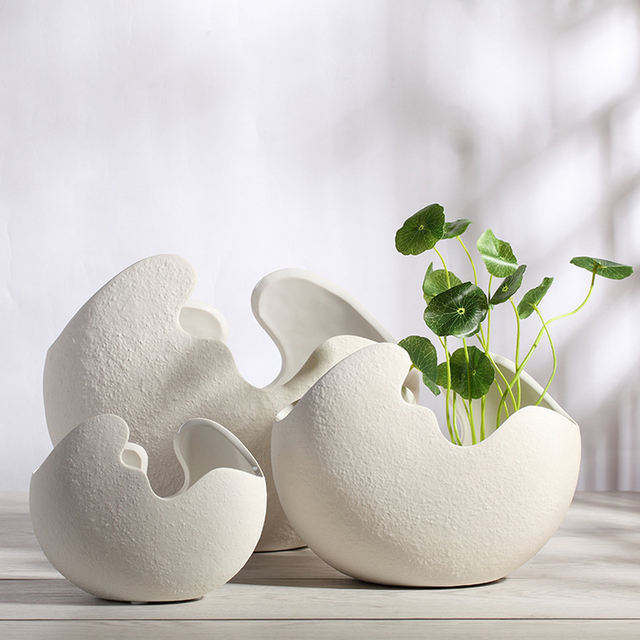 Ceramics Flower Vases For Home Decor Vase For Wedding Vase Decoration  Accessories