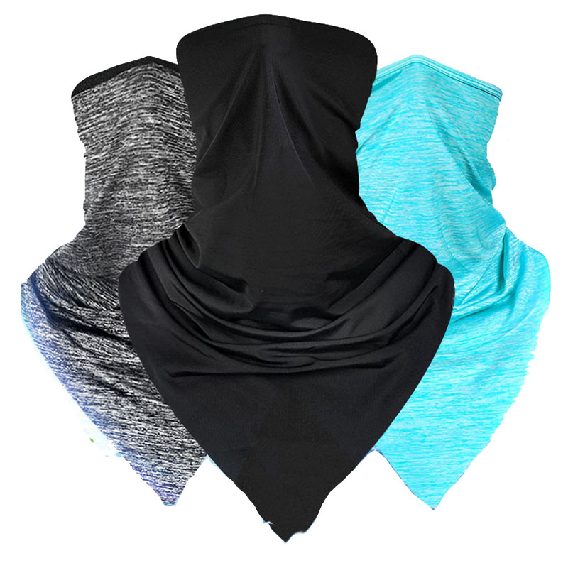 Outdoor Sports Bicycle Caps Scarf Cycling Bandana Bicycle Equipment Headwear Ride Neck Mask Bike Triangle Headband Scarf