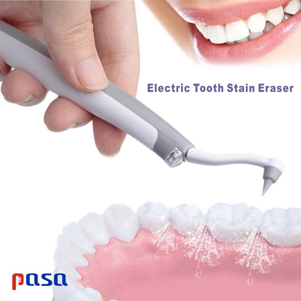 Electric Ultrasonic Tooth Stain Eraser Plaque Remover Vibrating Dental Tool Teeth Whitening Dental Cleaning Odontologia Tool