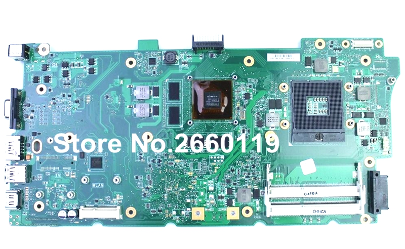 100% Working Laptop Motherboard For Asus N73JN Main Board Fully Tested and Cheap Shipping