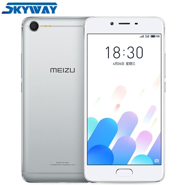 Original MEIZU E2 4G LTE Cell Phone MTK Holio P20 Octa Core 3G 32G 5.5inch 1920X1080P Fingerprint Fast Charging Smart Phone