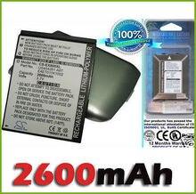 Pda e pocket PC Bateria Fit Pda Eten X800 Glofiish X800 2600 Mah Bateria Nova