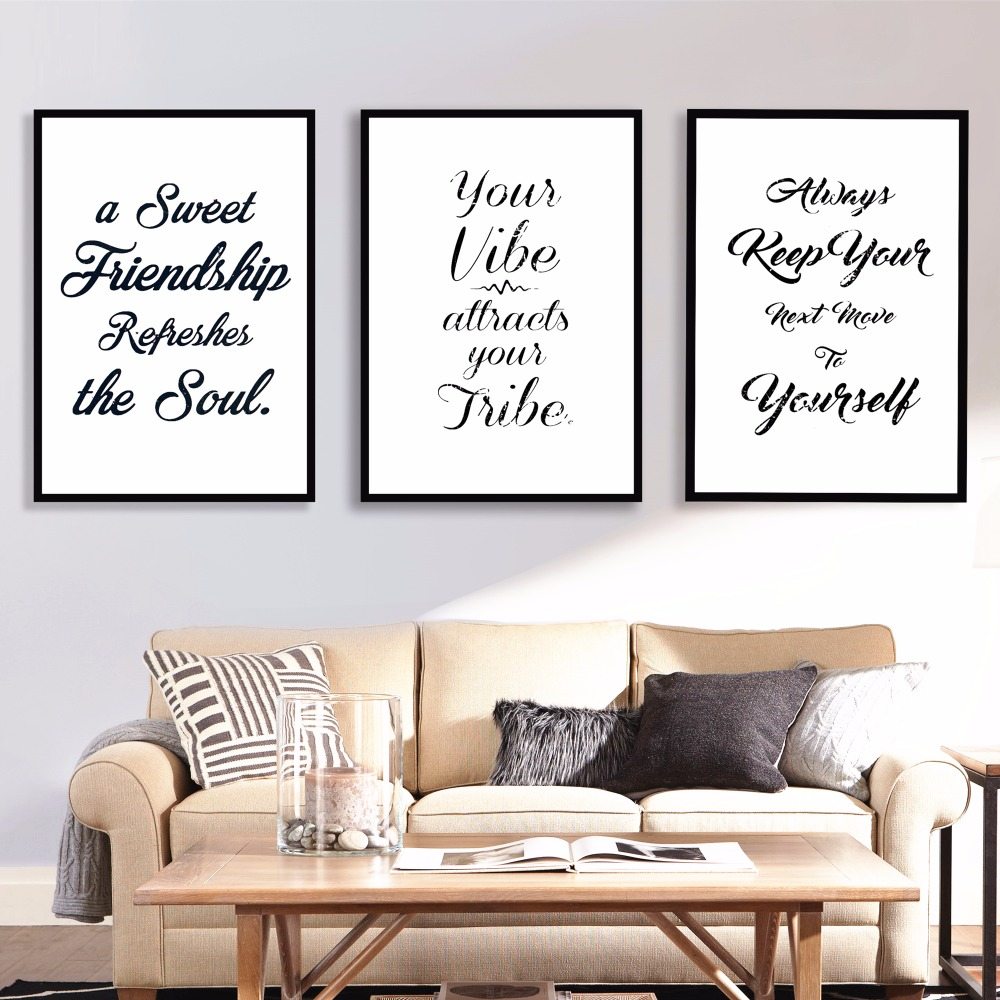 Vintage Motivational Quote Canvas Art Print Painting Poster Wall Pictures For Living Room Home Decorative Decor No Frame
