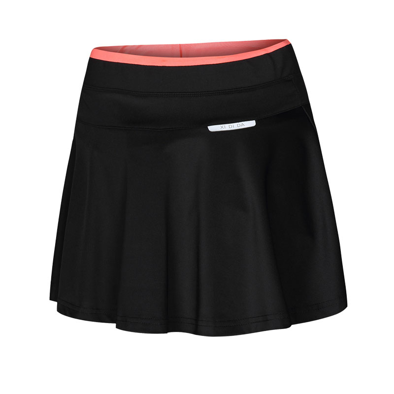 23dc4e7222f6f Badminton Skort Women Running Quick Dry Breathable Sport Skorts Hight Waist Tennis  Skirt Fake Two Pieces