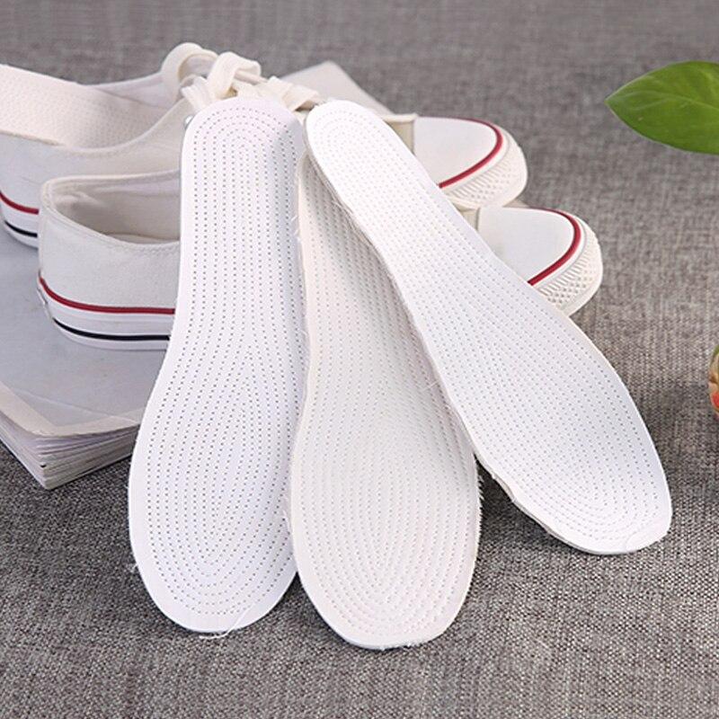 Women Men Insoles for Shoes Feet Cotton Breathable Sweat
