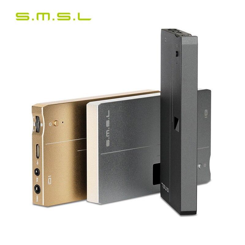SMSL IQ Portable Headphone Amplifier Hi Res 32bit 768kHz DSD512 Audio Digital to Analog Converter DAC
