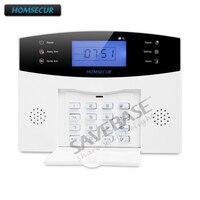 HOMSECUR gsm, для самостоятельной сборки сигнализации системы голосовые подсказки движения PIR сенсор для дома безопасности LA01