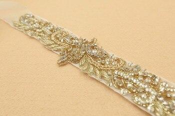 New design  indian Crystal Beads  Promotion Charming Bridal Belt Women Sashes rhinestones belt