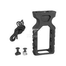 ACI PTG Paracord Тактический Ручной стоп для KeyMod и M-LOK MLOK для игрушечного пистолета NERF(черный/коричневый