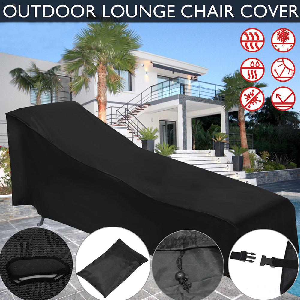 Water Resistant Waterproof Patio Outdoor Chaise Sun Lounge Chair Covers Durable Classic Accessories Day Chaise Cover