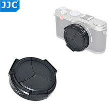 Leica x1/x2 용 jjc 전문 자체 유지 자동 열기 닫기 렌즈 캡