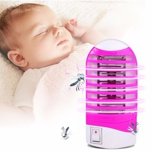 Night Sleep Anti Mosquito Repellent Mosquito Killer Lamp Bug Zapper Mosquito Trap Fly Insect Killer Random Color