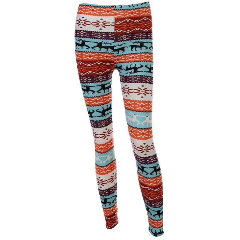 082ac75a612e Women Fashion Winter Warm Straight Fit Pant Snowflake Legging All Match  Christmas Deer Snow Pant